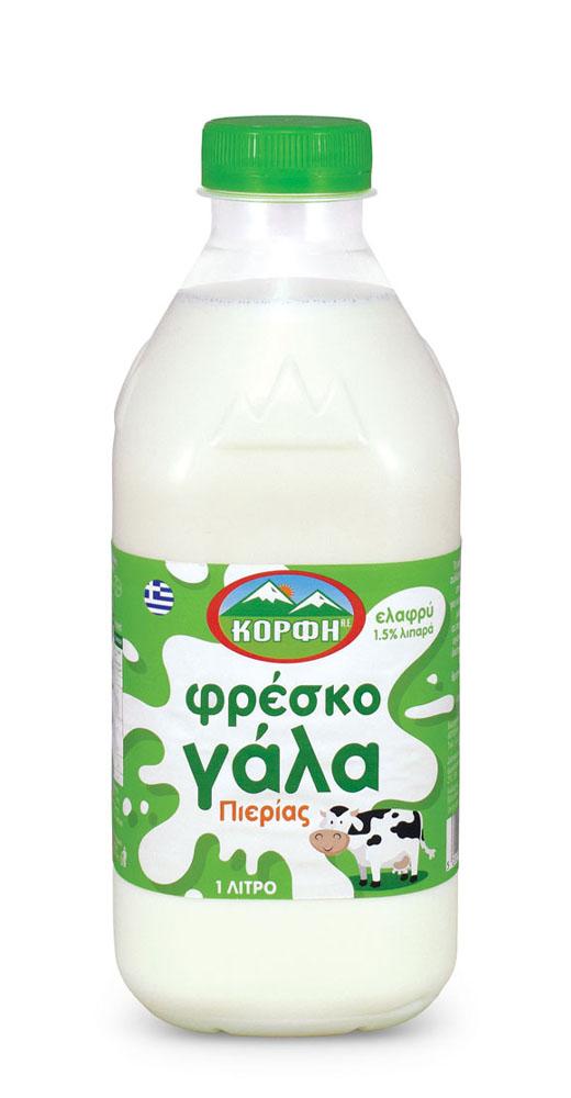 Φρέσκο Γάλα ελαφρύ με 1,5% λιπαρά