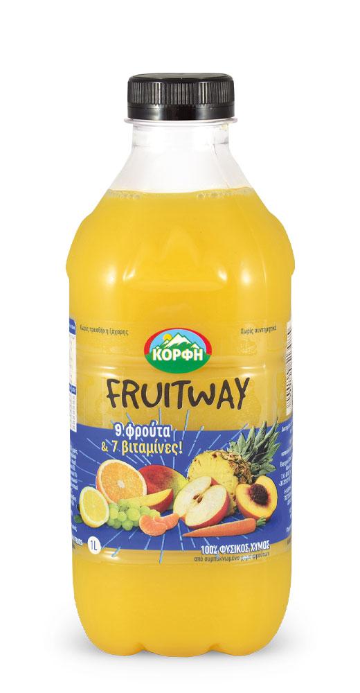 Fruitway 9 fruits – 7 vitamins 1l