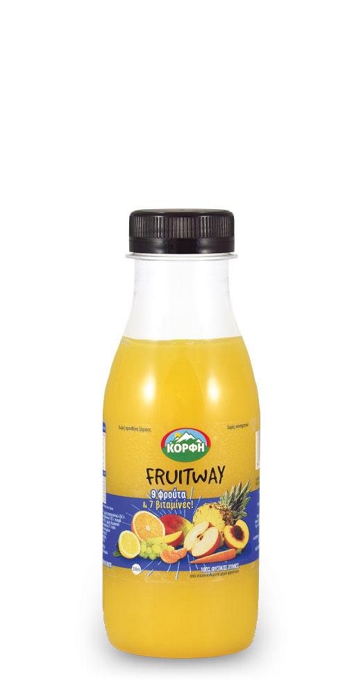 Fruitway 9 fruits – 7 vitamins 330ml