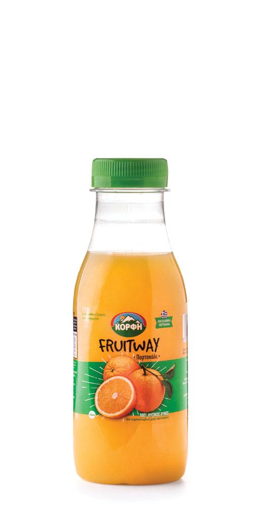 Fruitway 100% Natural orange juice 330ml
