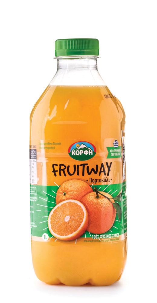 Fruitway 100% Natural orange juice 1L