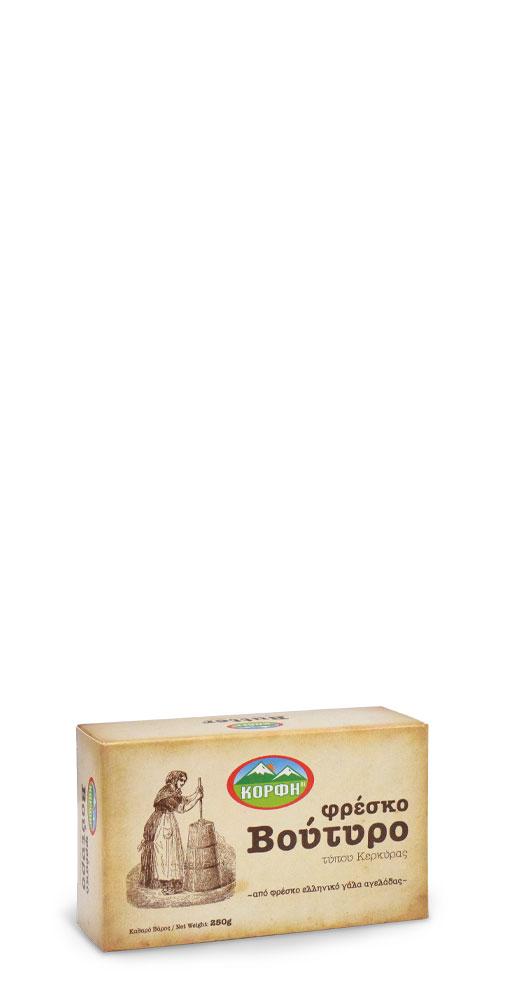 Φρέσκο Βούτυρο τύπου Κερκύρας